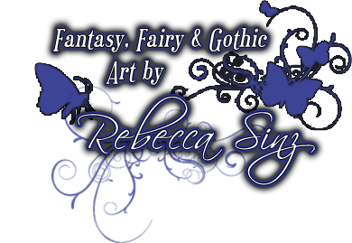 Fantasy, Fairy and Gothic Art by Rebecca Sinz