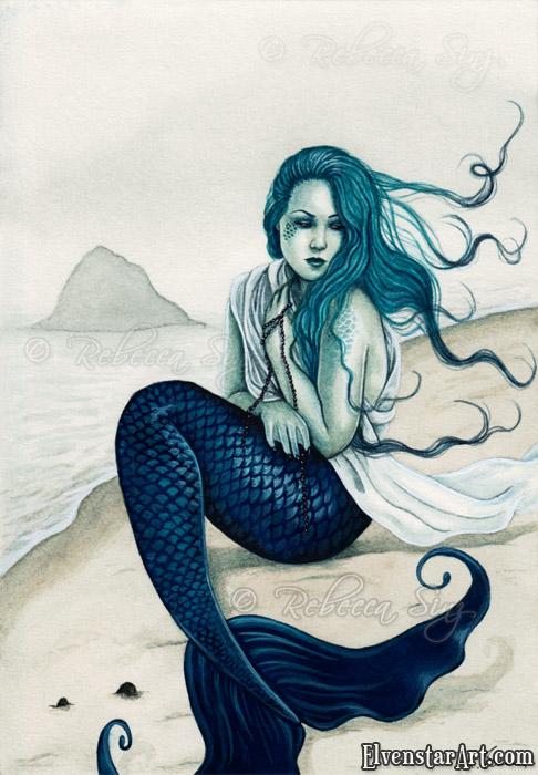 Psp tube windswept mermaid elvenstarart elvenstarart - Image de sirene h2o ...