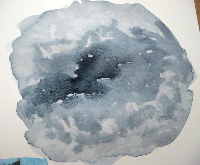 blotting texture