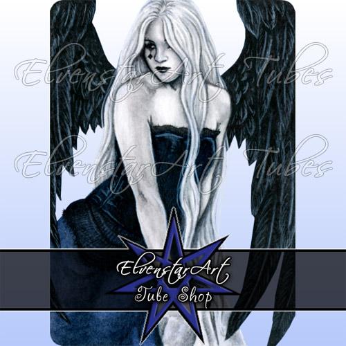 PSP Tube Sapphire Angel - ElvenstarArt