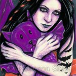 Batty Limited Edition ACEO Prints