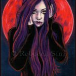 Blood Moon Limited Edition ACEO Prints