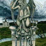 Five of Cups Original Painting
