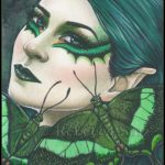 Green Swallowtail Limited Edition ACEO Prints