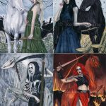 Four Horse(wo)men of the Apocalypse Print Sets