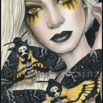 Death's Head Moth Limited Edition ACEO Prints
