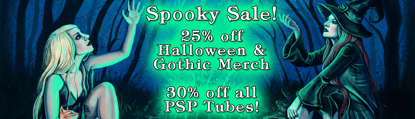 Halloween and Gothic Print Sale