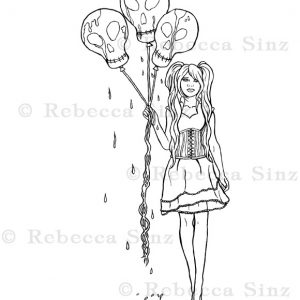 Lolita Witch coloring page   Free Printable Coloring Pages   300x300