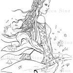 Mystic Shores Coloring Book Page Download
