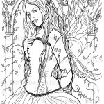 The Secret Temple Coloring Book Page Download
