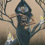 Druid Original Painting