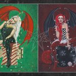 Gothic Christmas Demons Large Print
