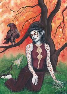 Autumn And Blood Hawk